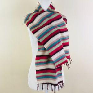 Pashmina & Silk Striped Scarf